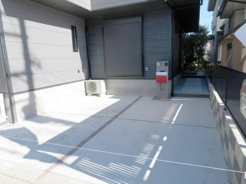 駐車スペース 並列2台分