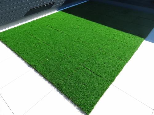 屋上庭園 人工芝