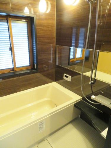 浴室(建築中 H31.2.15撮影)