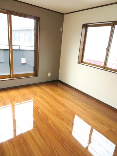 2階洋室(建築中 H31.2.15撮影)