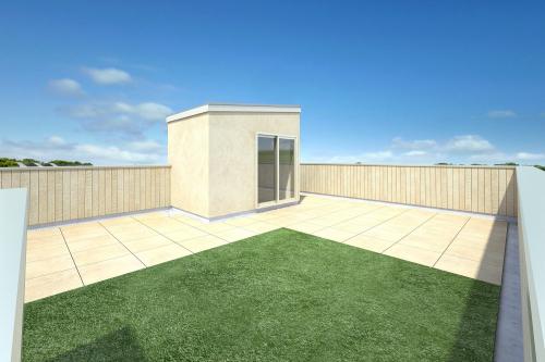 屋上庭園完成イメージ
