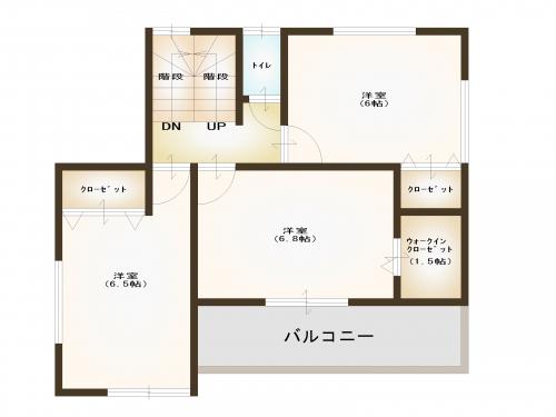 【参考プラン】2階
