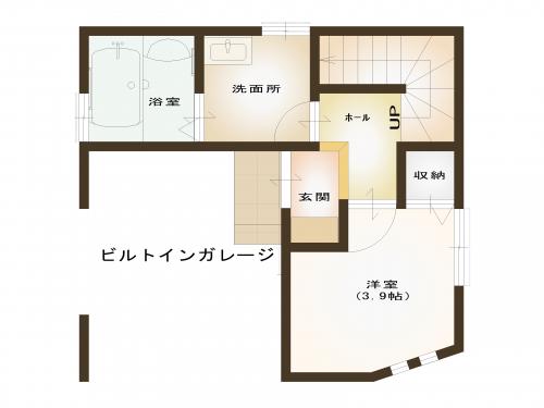 【間取り図】1階