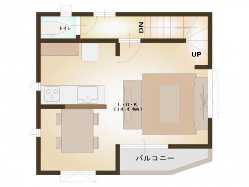 【間取り図】2階