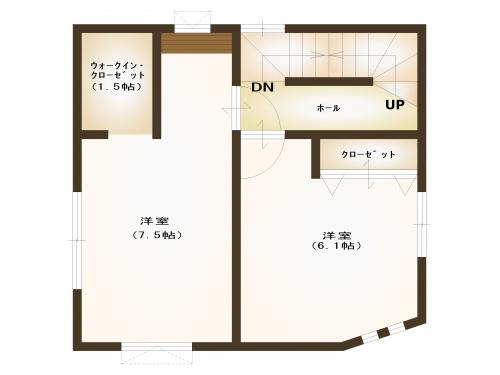 【間取り図】3階
