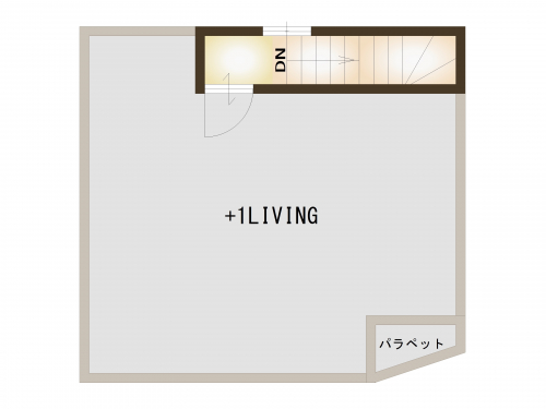 【間取り図】屋上