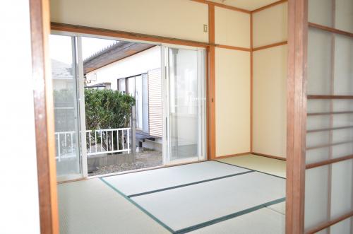 アパート 1階和室