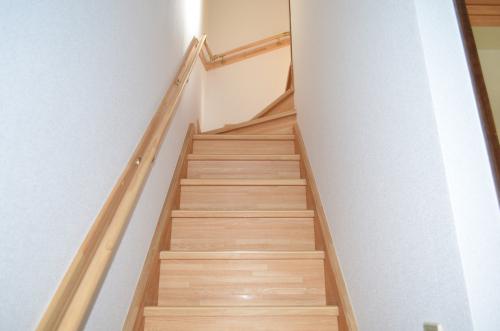 アパート 室内階段