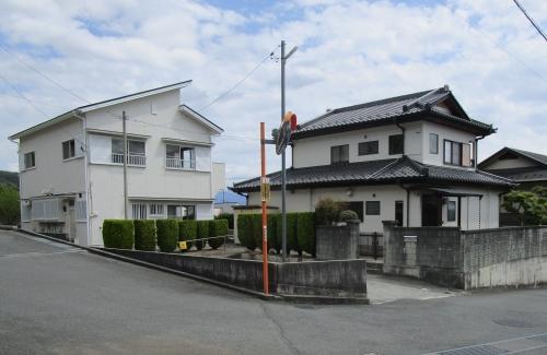 敷地内のアパート付き住宅