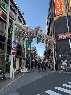 成増スキップ村商店街(820m)