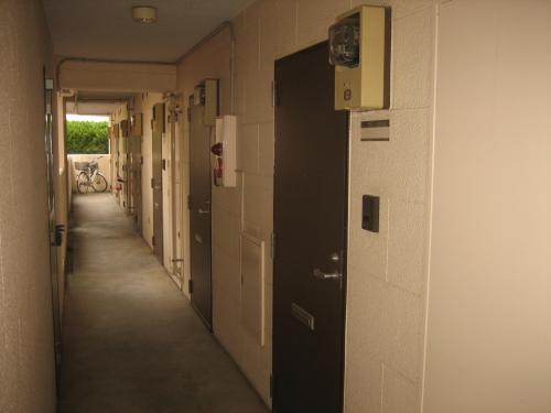 開放廊下!