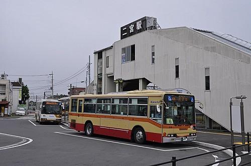 JR東海道線二宮駅までは、約1300m