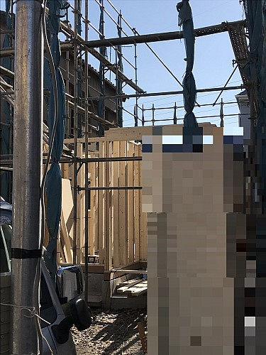 平成29年12月18日現場写真建物建築開始
