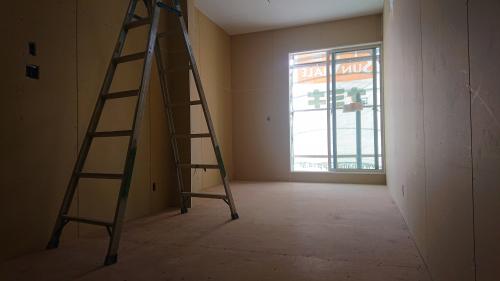 同じく2階の別角度です。大きな窓は解放感がありますね!