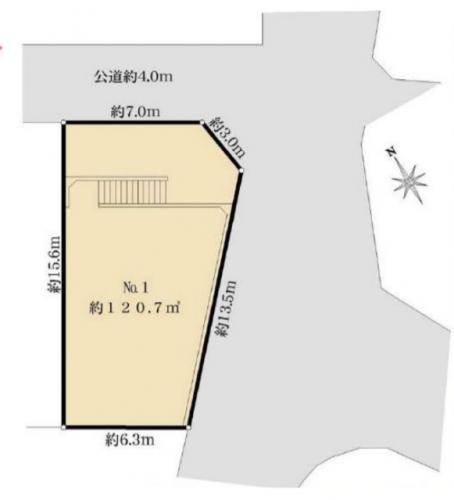 相模原市緑区売り地分譲物件情報相模原市緑区町屋4丁目売り地区画図