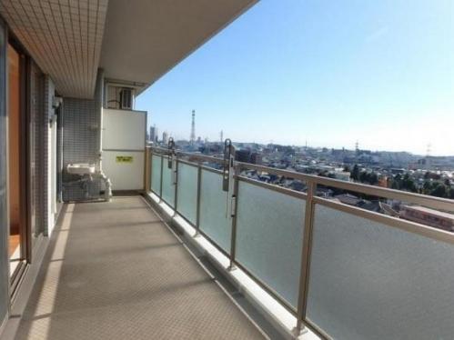 橋本駅徒歩圏のマンション・ライオンズマンション西橋本 バルコニー