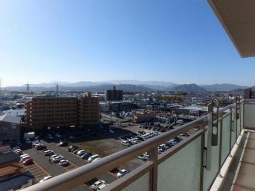 橋本駅徒歩圏のマンション・ライオンズマンション西橋本 バルコニーからの眺望