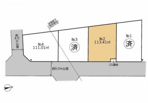相模原市緑区東橋本売り地物件情報(有)リビングホーム