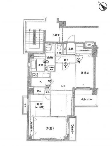 座間市相模が丘4丁目ウエル相模が丘中古マンション競売不動産物件情報(有)リビングホーム