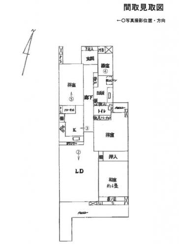 横浜市都筑区茅ヶ崎南クレストヒルズ中古マンション競売物件情報リビングホーム