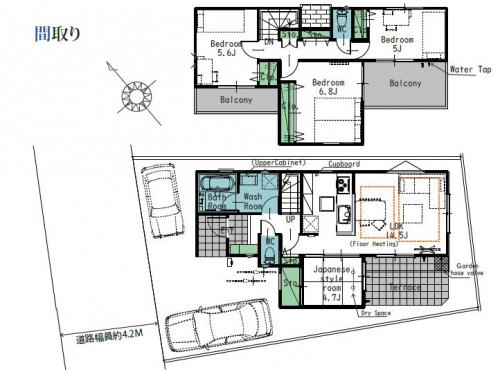 中央区宮下本町1丁目新築分譲全10棟物件情報リビングホーム