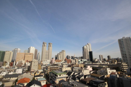 バルコニーからの眺望