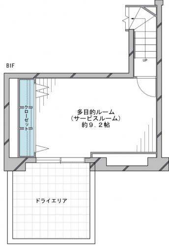 地下一階部分