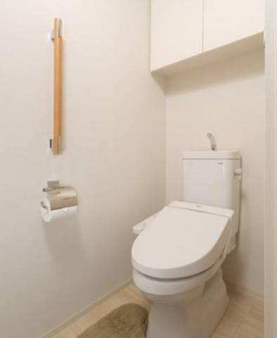 温水洗浄機能付きトイレ(イメージ図)