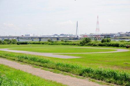 【周辺】多摩川大師橋緑地