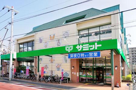 【周辺】サミット大田千鳥町店