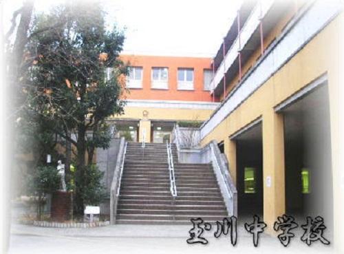 【周辺】玉川中学校