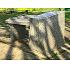 掛桶史跡公園 徒歩16分 川辺のベンチで一休み
